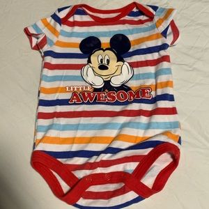 Disney Mickey Onesie 6-9M